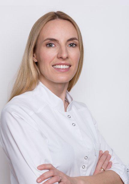 S'OS klinikos gydytoja odontologė Agnė Mališauskienė